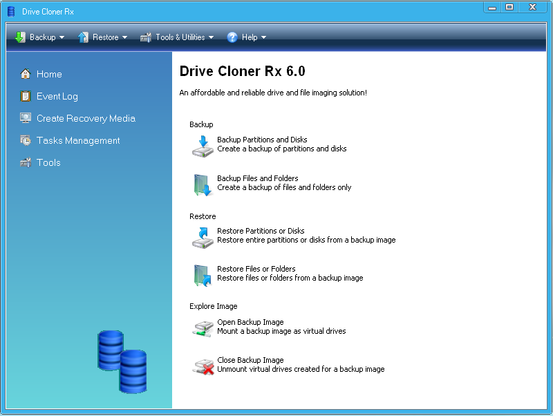Drive Cloner Rx 6.0 Beta Image