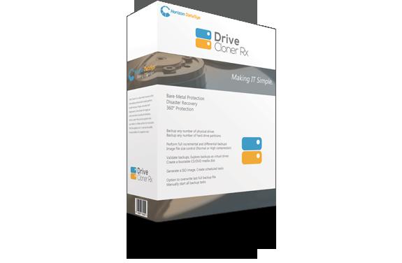 Drive Cloner Rx | Horizon DataSys Corporation