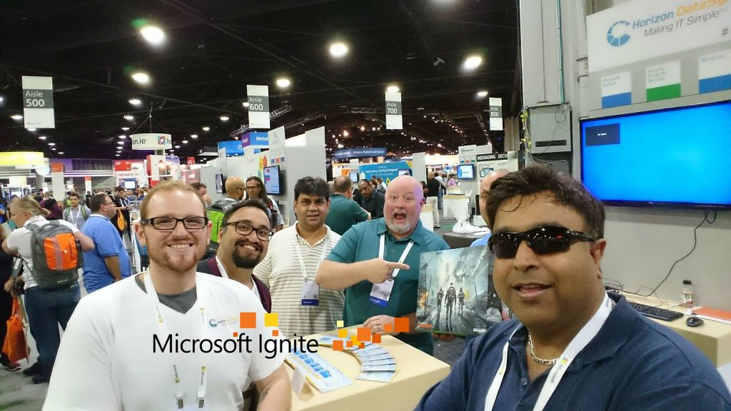 An attendee of Microsoft Ignite 2016 successfully crashed our system and took home an Xbox One as his prize.