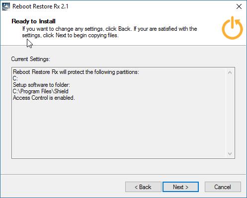 Reboot Restore Rx Freeware | Horizon DataSys Corporation